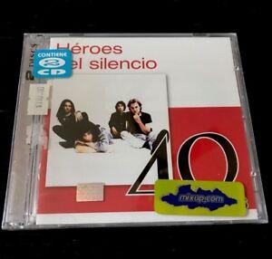 Héroes del Silenció Double CD 40 Hits, Mexico Enrique Bunbury. 2011 NEW SEALED