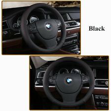 Fashion Luxury Car Steering Wheel Cover PU Leather Non-slip 38cm Fits Most Car