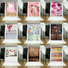 1.5m Photography Backdrop Floral Multi-Style Background Fabric Photo Studio Prop