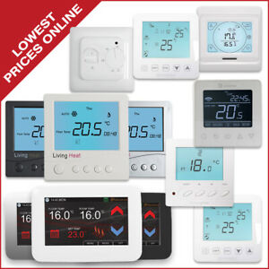 Living Heat Underfloor Heating Electric Thermostat Range
