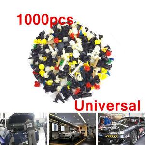 1000x Car Accessories Body Plastic Push Pin Rivet Fasteners Trim Moulding Clip