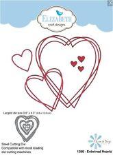 Elizabeth Crafts Designs Cutting Die Set ~ ENTWINED HEARTS Love, Valentine ~1266