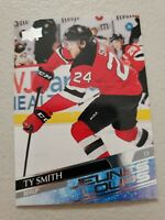 TY SMITH 2020-21 UPPER DECK SERIES 2 YOUNG GUNS FRENCH JEUNES LOUPS NJ DEVILS