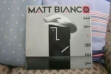 "MATT BIANCO - Yeh Yeh (12"" SINGLE) . FREE UK P+P ..............................."