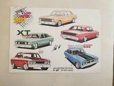 Ultra RARE Falcon GT Poster Limited edition signed by artist