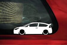 2x Lowered stickers auto aufkleber for Citroen C4 VTR / VTS 16v (1st Gen) Coupe
