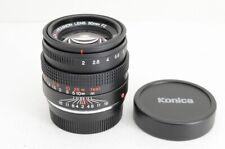 """""""MINT"""" Konica M-HEXANON 50mm F2 MF Lens for Leica M Mount #210215a"""