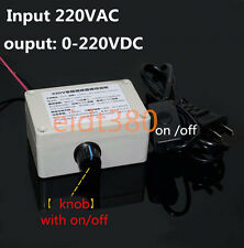 220VAC Speed Controller For 2000W DC Motor Control 0-200VDC Output Adjustable