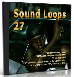 5300 Trap Loops Collection Beats WAV Loops Music Samples FL Studio MPC Logic