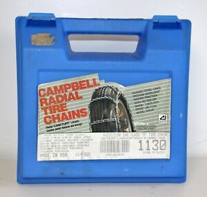 New Campbell radial tire chains-S class See listing for tire sizes