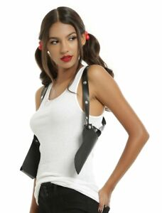 COSPLAY Costume Faux Leather STUDDED GUN HOLSTER Walking Dead/Deadpool NEW A