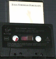 Julia Fordham ‎Porcelain CASSETTE ALBUM Virgin Circa ‎ML 210 248 Spanish issue