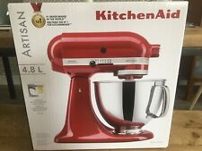 KitchenAid Artisan Stand Mixer In Red 4.8L - New/Boxed
