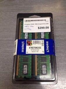 Kingston 2gb Memory Kit 2pcs KTM2758K2  41Y2761
