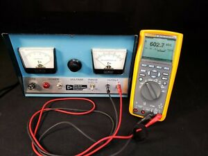Gelman 0 - 500 VDC @ 150mA Variable High Voltage B+ Tube Power Supply - REBUILT
