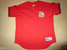 Columbus RedStixx Minor League Cleveland Indians MLB Majestic Jersey XL