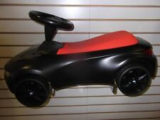 Bmw Baby Racer Iii Black and Orange Push Car Toy 80932413782