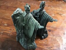 2002 Lord of the Rings Lotr Gates of Gondor Statue Bookends
