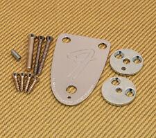 3BOLTKIT-B Fender USA 3-bolt Bass Neck Plate Kit 70s Telecaster & Jazz J Bass