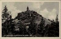 SEITENRODA KAHLA Schloss Burg Leuchtenburg Hotel 1952 DDR Ansichtskarte gelaufen