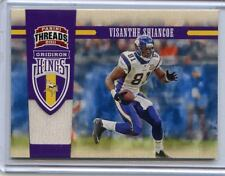 2011 THREADS #33 VISANTHE SHIANCOE JERSEY CARD #232/299 - MINNESOTA VIKINGS