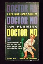 Ian Fleming Doctor No Vintage PB RARE 1st American Printing! James Bond GGA 1959