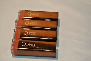 LOT OF 4 CoverGirl Queen Collection Lipstick Nude Attitude # Q495