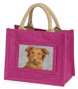 Nova Scotia Duck Retriever Little Girls Small Pink Shopping Bag Chris, AD-RN2BMP