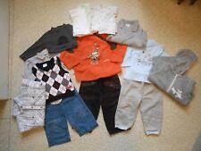 lot de 15 vêtements garçon 18 mois, pantalon, pull, bodies, tshirts...+ cadeau