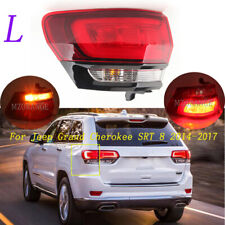 LED Left Outer Smoke Red Tail Light For Jeep Grand Cherokee SRT 8 2014-2017 Rear
