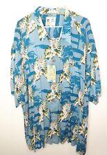 M.E. Sport Rayon Hawaiian Shirt Pin Up Girl Model  Camp Shirt 4XL