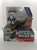 Hasbro Star Wars Galactic Heroes Scout Trooper & Speeder Bike Action Figure NIB