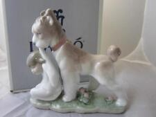 Lladro Safe and Sound Scoutish Terrier Dog #06556