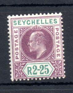Seychelles KEVII 1903 2r 25c mint LHM #56 WS13429