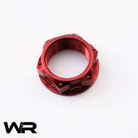 Yamaha YZF-R1 1000 5VY 2004-2006 Anodised Red Steering Stem Top Yoke Nut