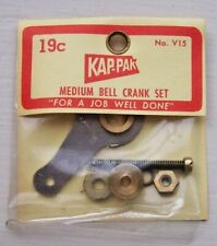 NOS Vintage Kap-Pak # V15 MEDIUM BELL CRANK SET RC Motor Parts