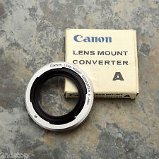 Canon Lens Mount Converter A L39 Rangefinder lens to Canon FL/FD Adapter (#632)