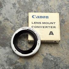 Canon Lens Mount Converter A L39 Rangefinder LTM to Canon FL/FD Adapter (632)