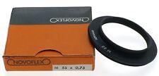 NOVOFLEX M55 x0.75 CAMERA LENS ADAPTER RING EXTENSION TUBE BOX NEW OLD STOCK
