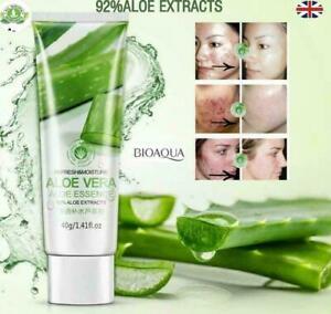 3 X 100% Pure Natural Aloe Vera Gel Soothing Moisturizing Skin Moisture Cream