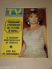 TV SORRISI CANZONI=1966/37=RENATA MAURO=FESTIVAL NAPOLI=ALBERTO LUPO=ADAMO=