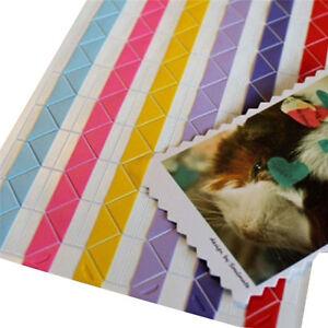 Self-adhesive Photo Album Corner Stickers Picture Frame Scrapbook Handcraft DIY
