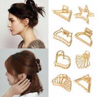 Fashion Women Hair Claw Clip Geometric Hairpin Crab Retro Hair Clips Hair Claw