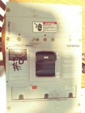 Siemens Hjxd63B400 400amp 600v circuit breaker type Hjxd6-A 1year warranty!