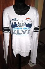 SUPER BOWL XLVIII 2014 Seattle Seahawks WOMENS HOODIE Shirt NWT $59 MEDIUM