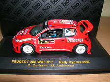Ixo Peugeot 206 WRC Rally Cyprus Zypern2005 D. Carlsson M. Andersson 1:43, #17