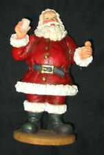 "1998 Magic Of Giving 7"" Santa by Roman, Inc Milk and Cookie Euc $65.00"