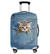 3D Tier Cartoon Elastisch Kofferhülle Kofferschutzhülle Kofferabdeckung Gepäck