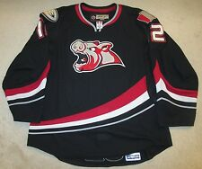 Iowa Chops 1 Season Team John de Gray Game Used Worn AHL Hockey Jersey LOA