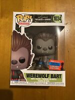 Funko POP! The Simpsons Werewolf Bart #1034 2020 Fall Convention EXCLUSIVE